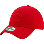 New Era Men's Cincinnati Reds Red 39Thirty Perftone Stretch Fit Hat