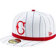 separation shoes dfc26 acc17 New Era Men s Cincinnati Reds 1919 59Fifty Authentic Hat