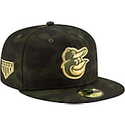 New Era Men's Baltimore Orioles 59Fifty Armed Forces Fitted Hat