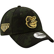 New Era Men's Baltimore Orioles 9Forty Armed Forces Adjustable Hat