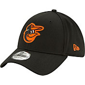 New Era Men's Baltimore Orioles Black 39Thirty Clubhouse Stretch Fit Hat