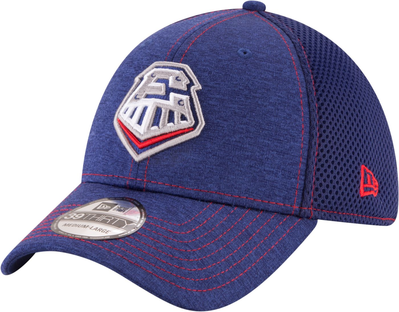 New Era Men's Round Rock Express 39Thirty Stretch Fit Hat