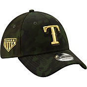 New Era Men's Texas Rangers 39Thirty Armed Forces Stretch Fit Hat