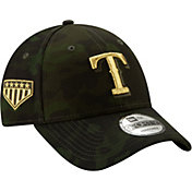 New Era Men's Texas Rangers 9Forty Armed Forces Adjustable Hat