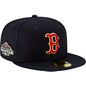 New Era Men's Boston Red Sox Championship Gold 59Fifty Authentic Hat