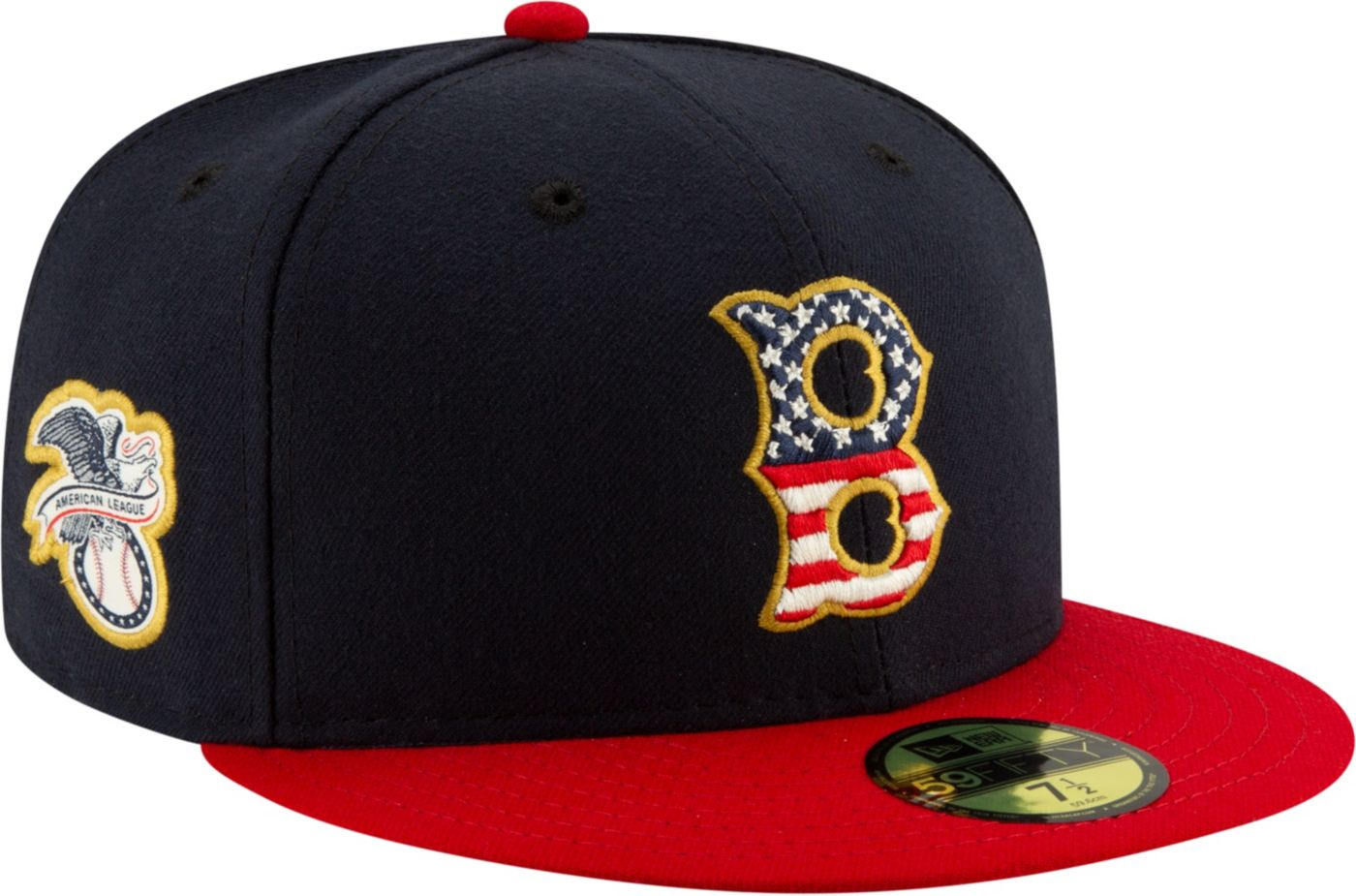 New Era Men's Boston Red Sox 59Fifty 2019 4th of July Fitted Hat