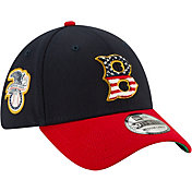 New Era Men's Boston Red Sox 39Thirty 2019 4th of July Stretch Fit Hat
