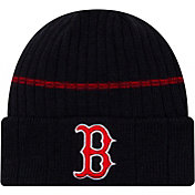 New Era Men's Boston Red Sox Navy Sports Knit Hat