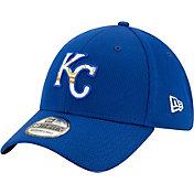New Era Men's Kansas City Royals 39Thirty Royal Batting Practice Stretch Fit Hat