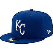 New Era Men's Kansas City Royals 59Fifty Royal Batting Practice Fitted Hat