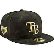 New Era Men's Tampa Bay Rays 59Fifty Armed Forces Fitted Hat