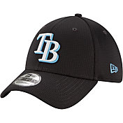 New Era Men's Tampa Bay Rays Gray 39Thirty Clubhouse Stretch Fit Hat