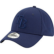 New Era Men's Tampa Bay Rays Navy 39Thirty Perftone Stretch Fit Hat