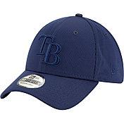 New Era Men's Tampa Bay Rays Navy 39Thirty Perftone Stretch Fit Hat