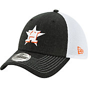 New Era Men's Houston Astros Black 39Thirty Heather Neo Stretch Fit Hat