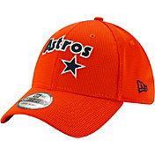 New Era Men's Houston Astros Orange 39Thirty Clubhouse Stretch Fit Hat