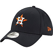 New Era Men's Houston Astros Navy 39Thirty Clubhouse Stretch Fit Hat