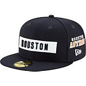 New Era Men's Houston Astros 59Fifty Navy Multi-logo Fitted Hat
