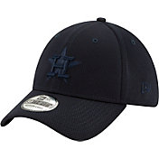 New Era Men's Houston Astros Navy 39Thirty Perftone Stretch Fit Hat