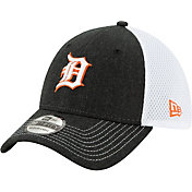 New Era Men's Detroit Tigers Black 39Thirty Heather Neo Stretch Fit Hat