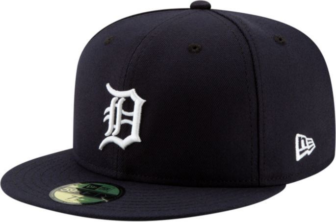 exclusive range outlet store super cheap New Era Men's Detroit Tigers 59Fifty Home Navy Authentic Hat ...