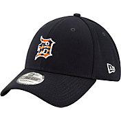 New Era Men's Detroit Tigers 39Thirty Navy Batting Practice Stretch Fit Hat