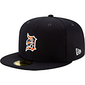 New Era Men's Detroit Tigers 59Fifty Navy Batting Practice Fitted Hat