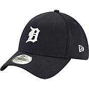 New Era Men's Detroit Tigers Navy 39Thirty Clubhouse Stretch Fit Hat
