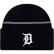 New Era Men's Detroit Tigers Navy Sports Knit Hat