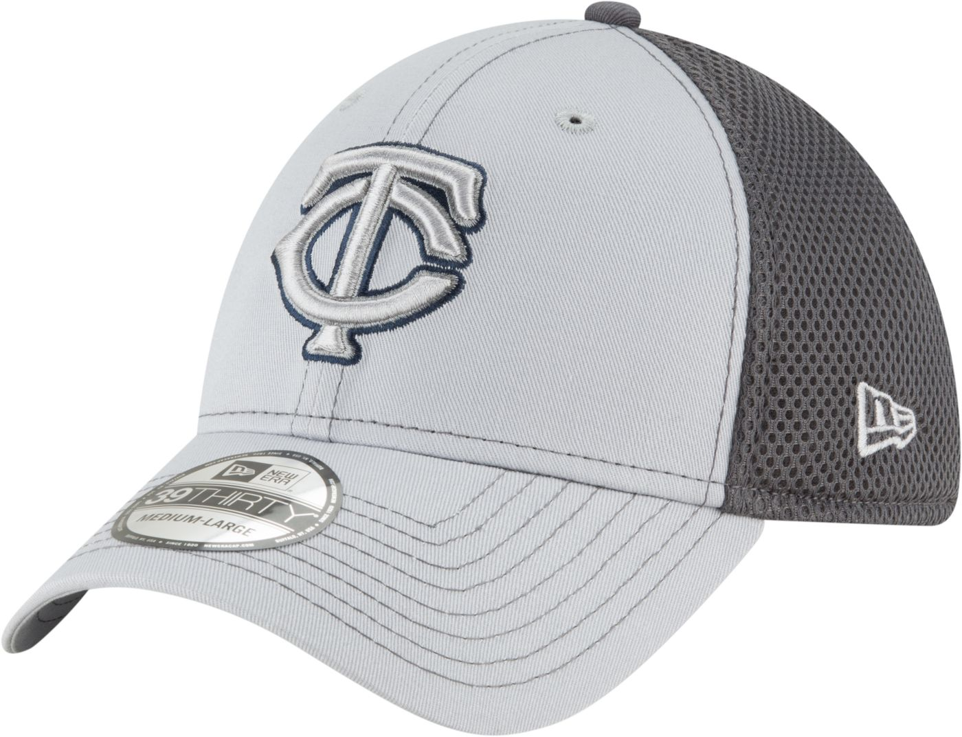 New Era Men's Minnesota Twins 39Thirty Stretch Fit Hat