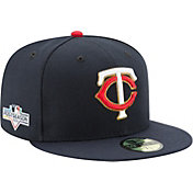 New Era Men's Minnesota Twins 59Fifty 2019 MLB Postseason Authentic Hat