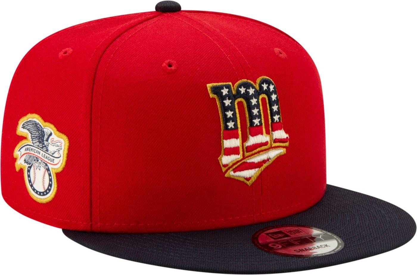 New Era Men's Minnesota Twins 9Fifty 2019 4th of July Adjustable Snapback Hat