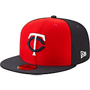 New Era Men's Minnesota Twins 59Fifty HexTech Batting Practice Fitted Hat