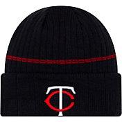 New Era Men's Minnesota Twins Navy Sports Knit Hat
