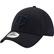 New Era Men's Minnesota Twins Navy 39Thirty Perftone Stretch Fit Hat