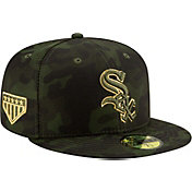 New Era Men's Chicago White Sox 59Fifty Armed Forces Fitted Hat