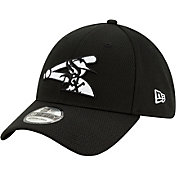 New Era Men's 2020 Spring Training Chicago White Sox Black 39Thirty Stretch Fit Hat