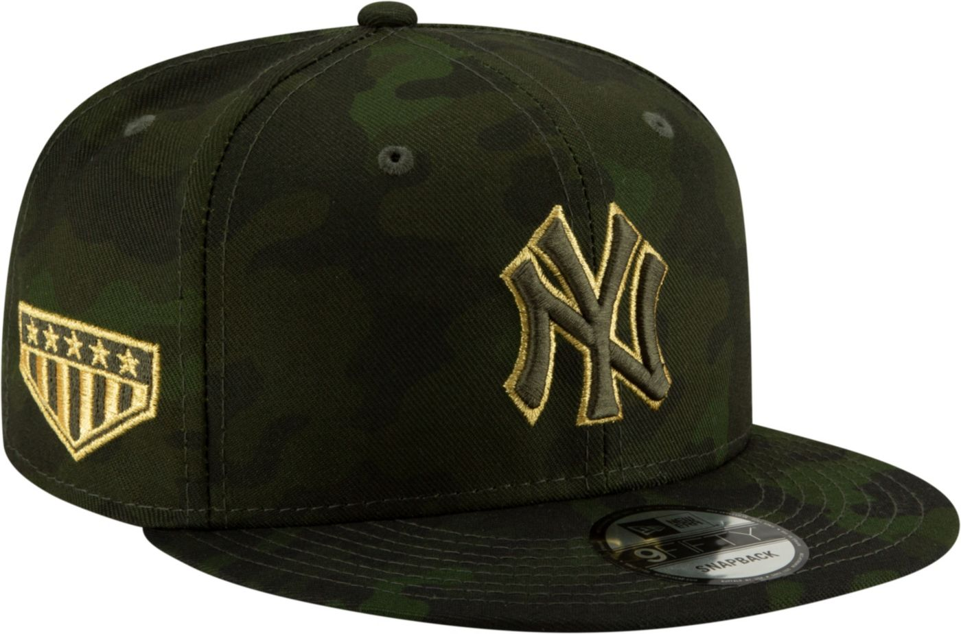 New Era Men's New York Yankees 9Fifty Armed Forces Adjustable Snapback Hat