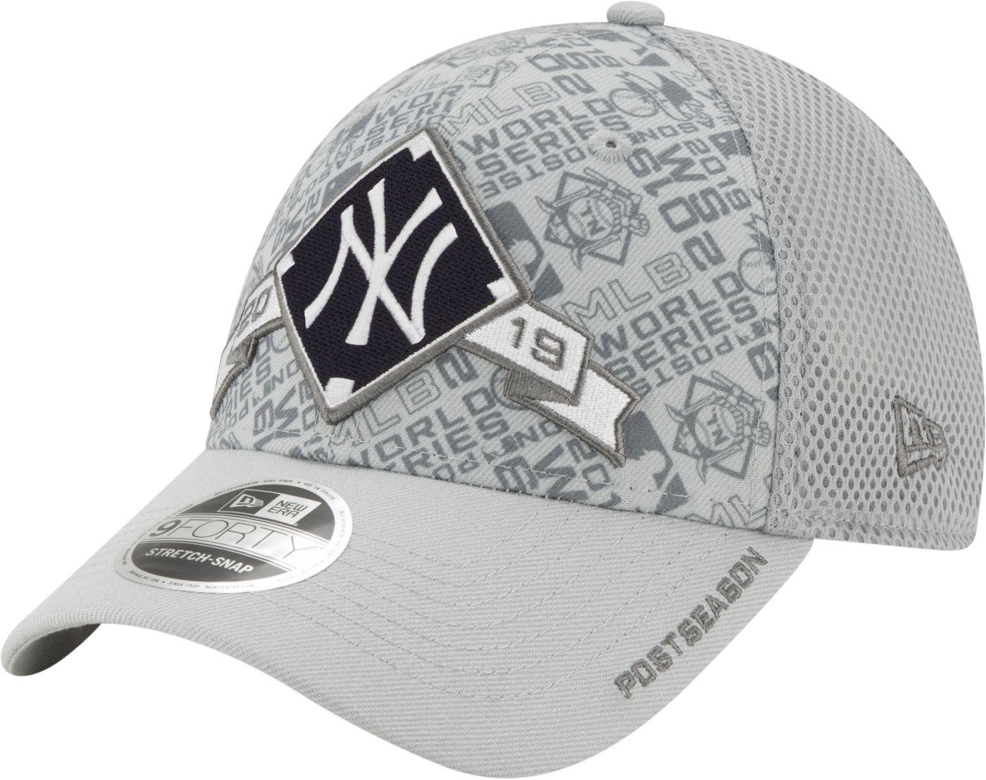 New Era Men's New York Yankees 2019 LDS Clincher Locker Room 9Forty Adjustable Hat