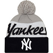 New Era Men's New York Yankees Script Knit Hat