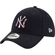 New Era Men's New York Yankees 39Thirty Navy Batting Practice Stretch Fit Hat