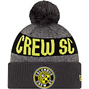 MLS Men's Columbus Crew Pom Knit Beanie