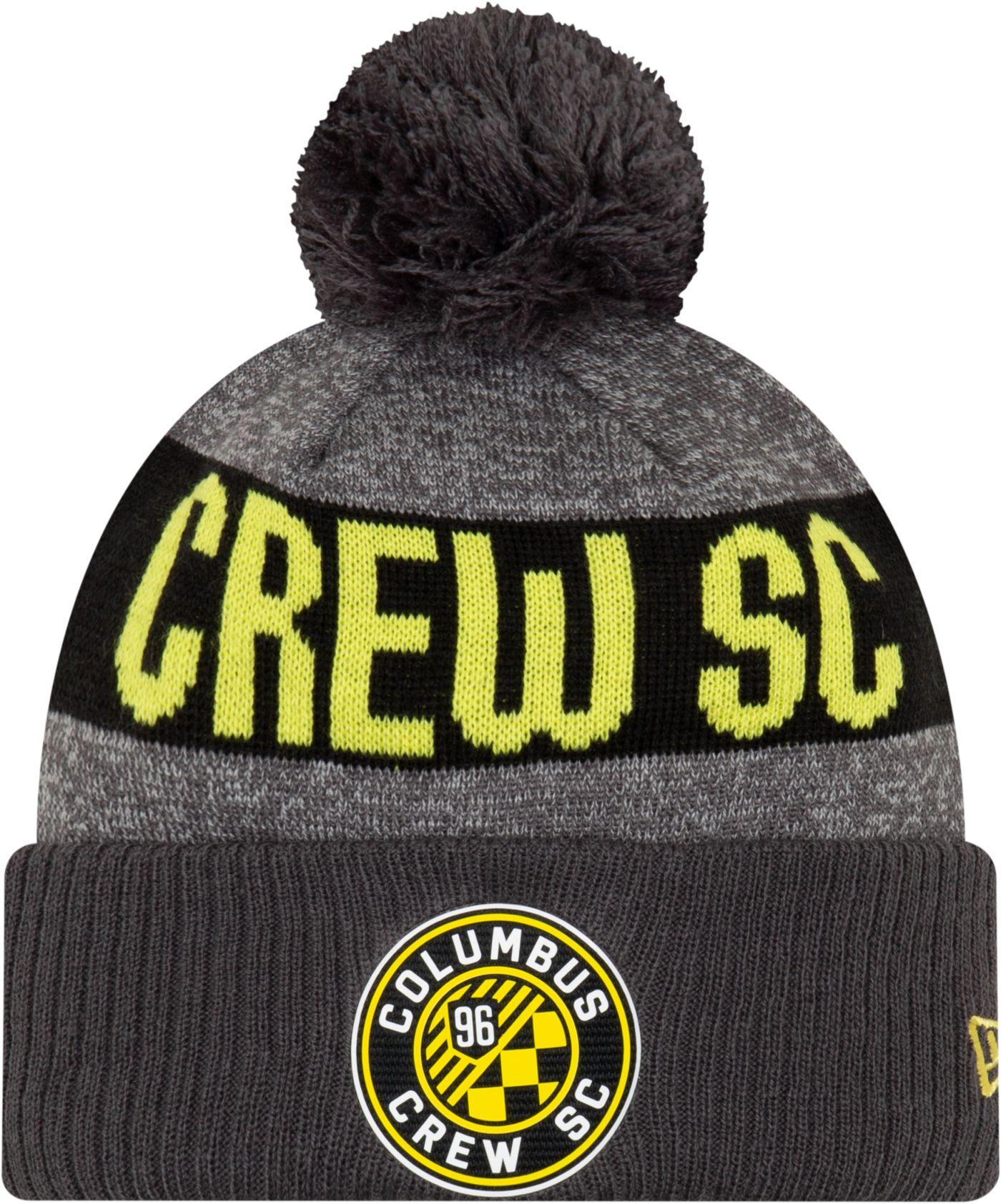 MLS Men's Columbus Crew Pom Knit Beanie
