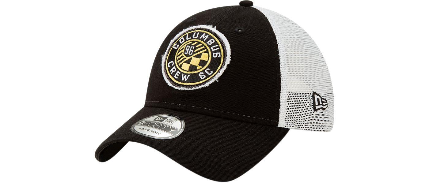 New Era Men's Columbus Crew 9Forty Trucker Adjustable Hat