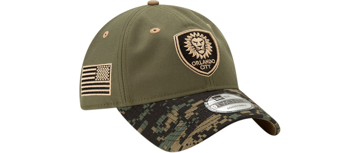 New Era Men's Orlando City Military Appreciation 9Twenty Adjustable Hat
