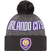 MLS Men's Orlando City Pom Knit Beanie