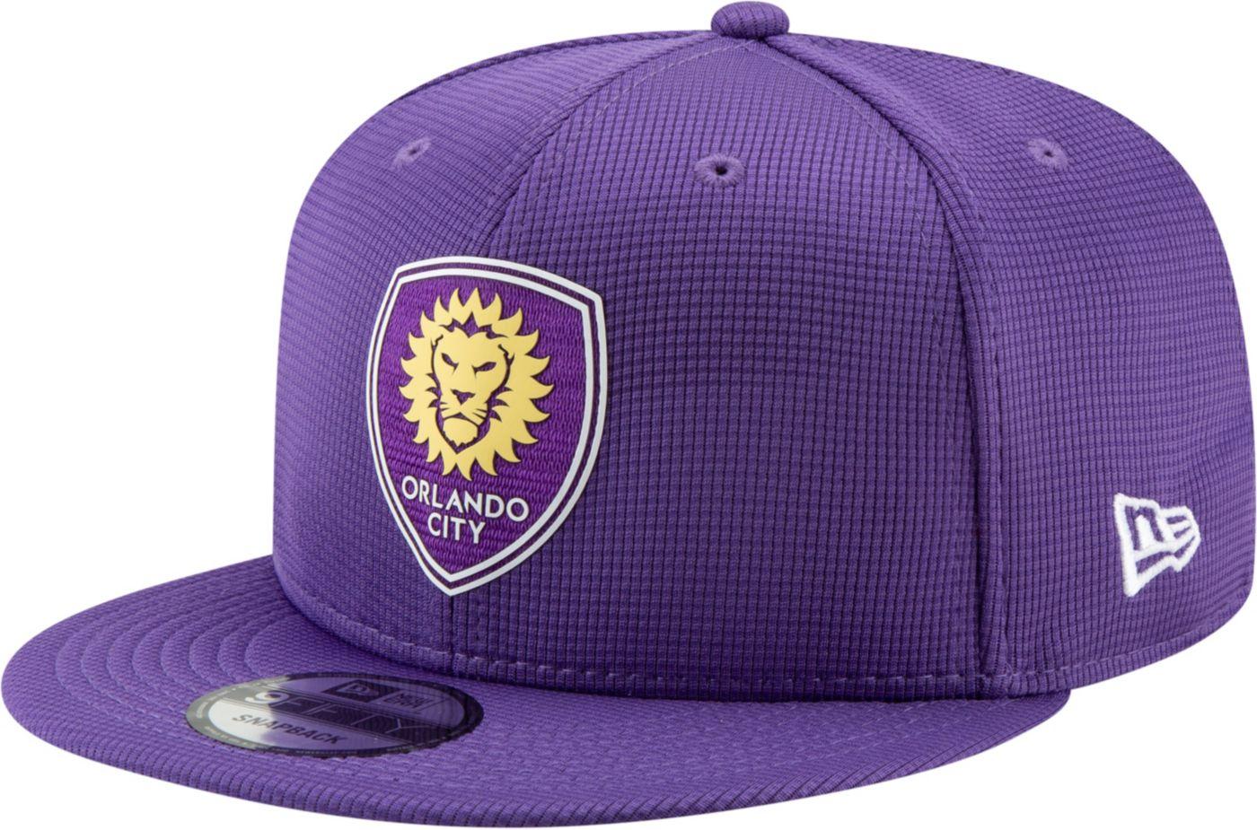 MLS Men's Orlando City 9Fifty Snapback Adjustable Hat