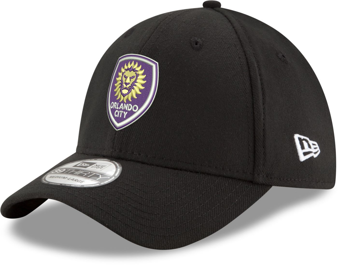 New Era Men's Orlando City 39Thirty Stretch Fit Hat
