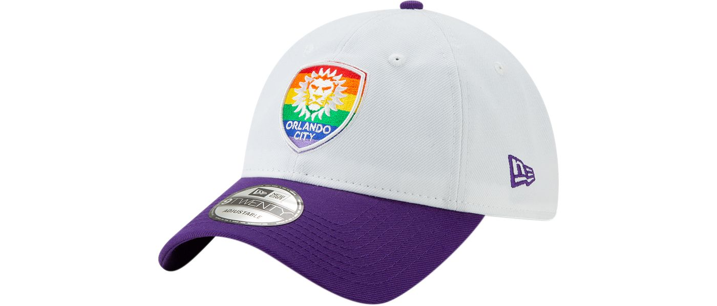 New Era Men's Orlando City Pride 9Twenty Adjustable Hat