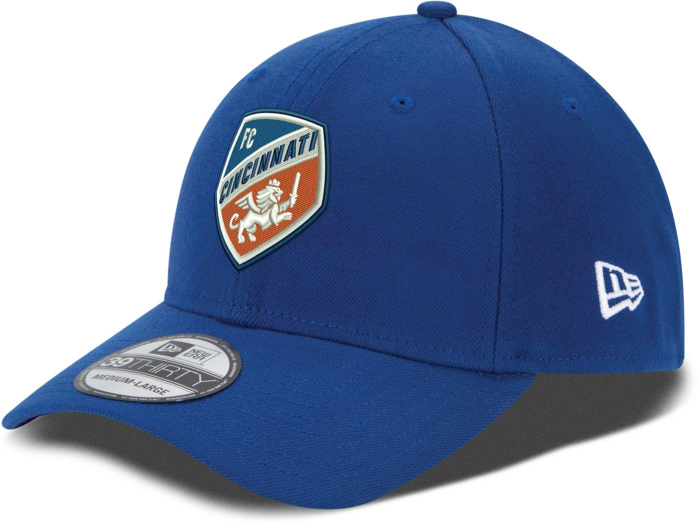 New Era Men's FC Cincinnati 39Thirty Stretch Fit Hat
